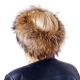 Genuine Raccoon Fur Headband Fur Ear Warmer