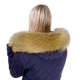 Limited Edition - Yellow Raccoon Fur Hood Trim