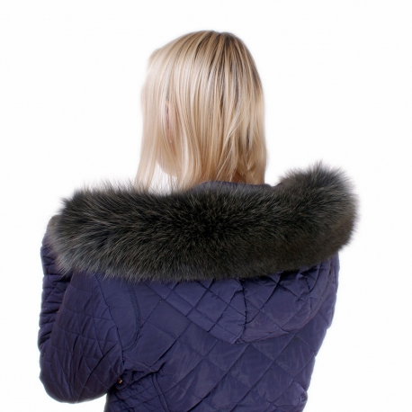 Limited Edition - Green Fox Fur Hood Trim
