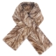 Limited Edition - Grey-Brown Mink Fur Scarf Shawl