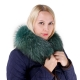 Limited Edition - Green Raccoon Fur Hood Trim