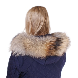Raccoon Fur Hood Trim Fur Collar Fur For Hood