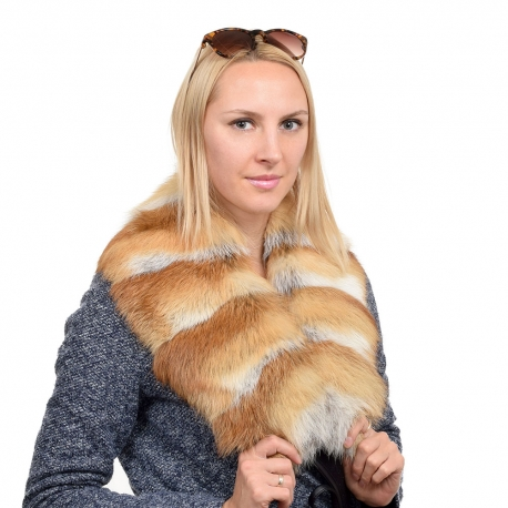 Limited Edition - Genuine Red Fox Fur Collar