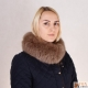 Limited Edition - Light Brown Fox Fur Stand-Up Collar