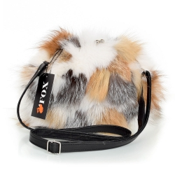 Fox Fur Purse / Fox Fur Shoulder Bag