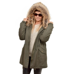 Parka with Hood of Finn Raccoon Fur