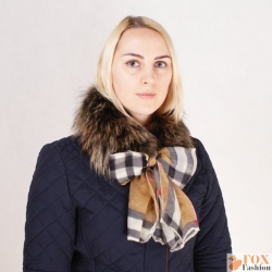 Limited Edition - Raccoon Fur Boa Collar Scarf Wrap