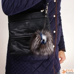 Fur Monster Bag Charm Keyring