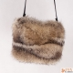 Limited Edition - Raccoon Fur Shoulder Bag